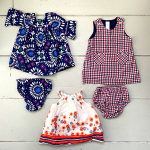 Baby Gap Baby girl summer dresses bundle
